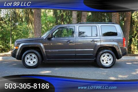 2014 Jeep Patriot for sale at LOT 99 LLC in Milwaukie OR