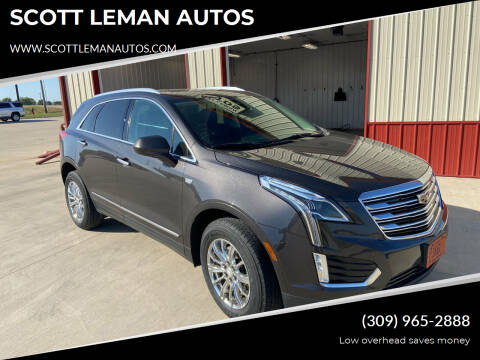 2017 Cadillac XT5 for sale at SCOTT LEMAN AUTOS in Goodfield IL