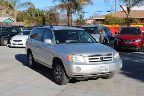 2006 Toyota Highlander for sale at Car 1234 inc in El Cajon CA