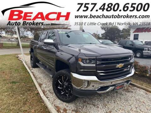 2016 Chevrolet Silverado 1500 for sale at Beach Auto Brokers in Norfolk VA