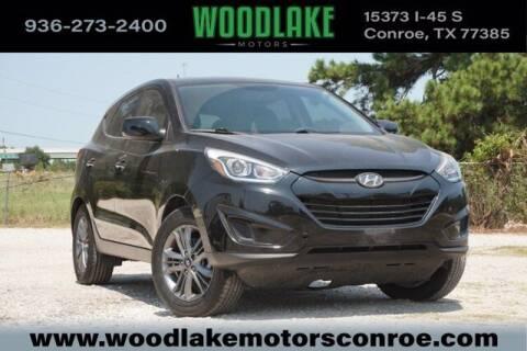 2015 Hyundai Tucson for sale at WOODLAKE MOTORS in Conroe TX