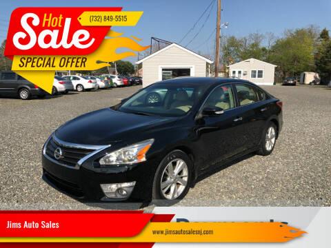 2013 Nissan Altima for sale at Jims Auto Sales in Lakehurst NJ