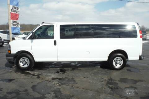 2018 Chevrolet Express Passenger for sale at Bryan Auto Depot in Bryan OH