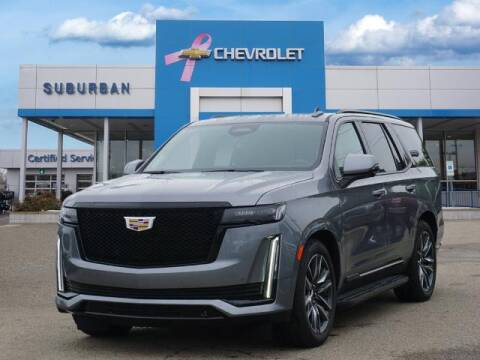 2021 Cadillac Escalade for sale at Suburban Chevrolet of Ann Arbor in Ann Arbor MI