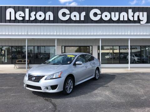 2014 Nissan Sentra for sale at Nelson Car Country in Bixby OK
