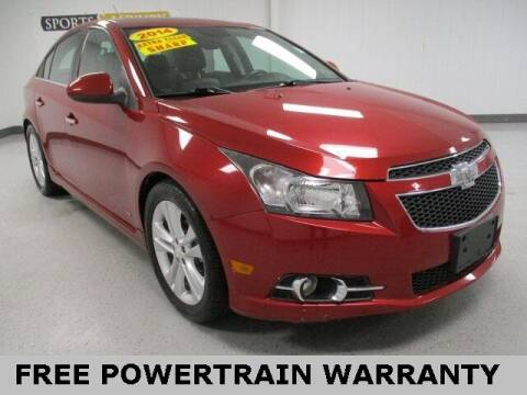 2014 Chevrolet Cruze for sale at Sports & Luxury Auto in Blue Springs MO