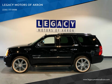 2007 Cadillac Escalade for sale at LEGACY MOTORS OF AKRON in Akron OH