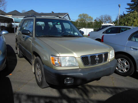 2001 Subaru Forester for sale at Family Auto Network in Portland OR