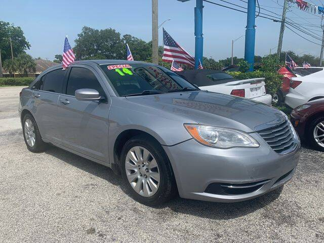 2014 Chrysler 200 for sale at AUTO PROVIDER in Fort Lauderdale FL