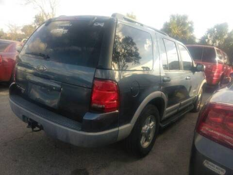 2002 Ford Explorer for sale at JacksonvilleMotorMall.com in Jacksonville FL