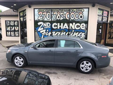 2008 Chevrolet Malibu for sale at Kentucky Auto Sales & Finance in Bowling Green KY