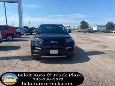 2020 Ford Explorer for sale at BELOIT AUTO & TRUCK PLAZA INC in Beloit KS