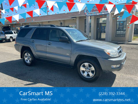 2005 Toyota 4Runner for sale at CarSmart MS in Diberville MS