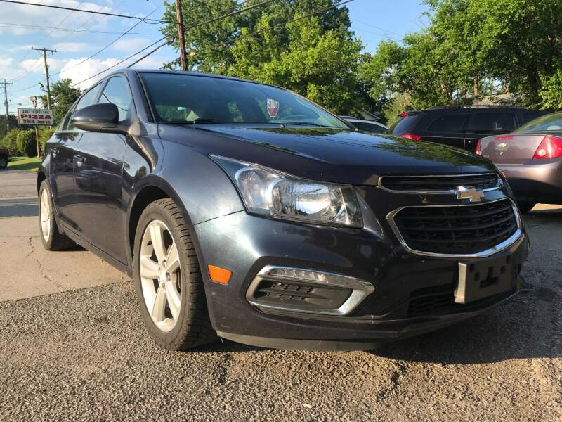 2015 Chevrolet Cruze for sale at King Louis Auto Sales in Louisville KY