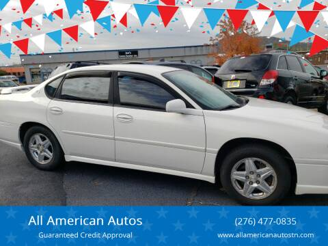 2005 Chevrolet Impala for sale at All American Autos in Kingsport TN