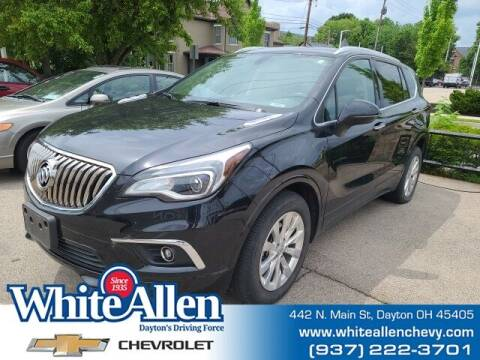 2018 Buick Envision for sale at WHITE-ALLEN CHEVROLET in Dayton OH