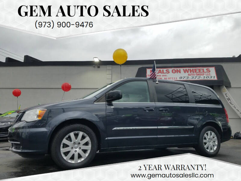 2014 Chrysler Town and Country for sale at Gem Auto Sales in Irvington NJ