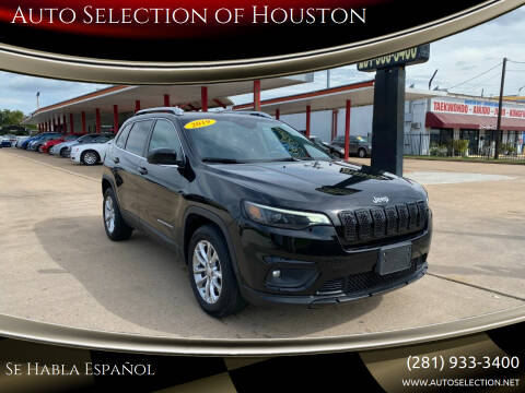2019 Jeep Cherokee for sale at Auto Selection of Houston in Houston TX