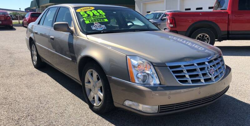 2006 Cadillac DTS for sale at Perrys Certified Auto Exchange in Washington IN