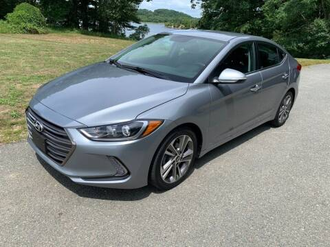 2017 Hyundai Elantra for sale at Elite Pre-Owned Auto in Peabody MA