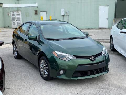 2014 Toyota Corolla for sale at Key West Kia - Wellings Automotive & Suzuki Marine in Marathon FL