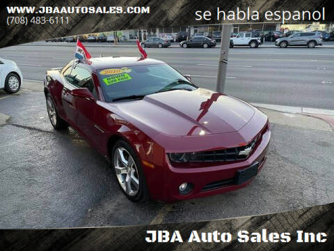 2010 Chevrolet Camaro for sale at JBA Auto Sales Inc in Stone Park IL