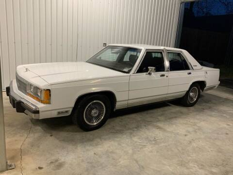 1988 Ford LTD Crown Victoria for sale at Bayou Classics and Customs in Parks LA