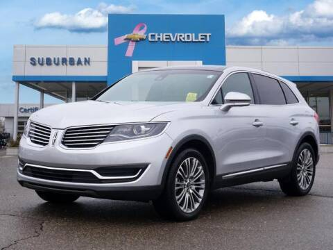 2017 Lincoln MKX for sale at Suburban Chevrolet of Ann Arbor in Ann Arbor MI