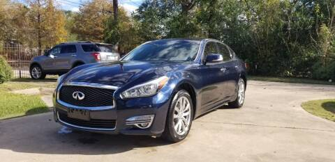 2015 Infiniti Q70 for sale at Green Source Auto Group LLC in Houston TX