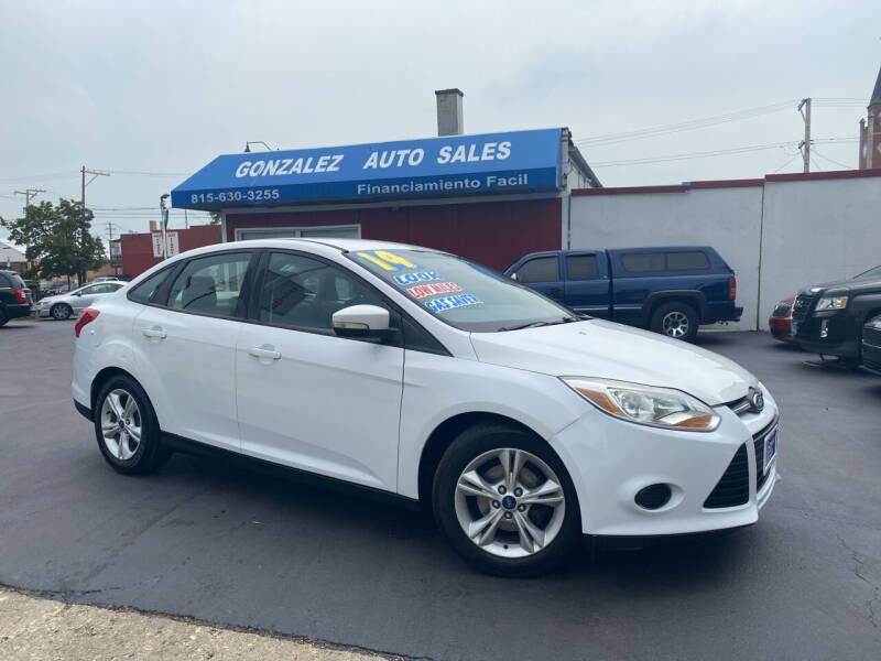 2014 Ford Focus for sale at Gonzalez Auto Sales in Joliet IL