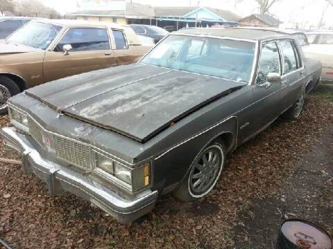 1985 Oldsmobile Delta Eighty-Eight Royale for sale at Ody's Autos in Houston TX