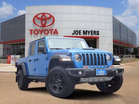 2021 Jeep Gladiator for sale at Joe Myers Toyota PreOwned in Houston TX