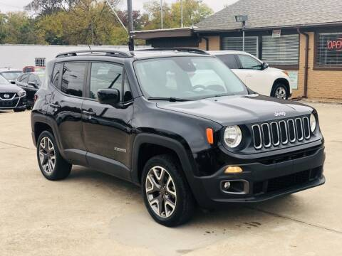 2017 Jeep Renegade for sale at Safeen Motors in Garland TX