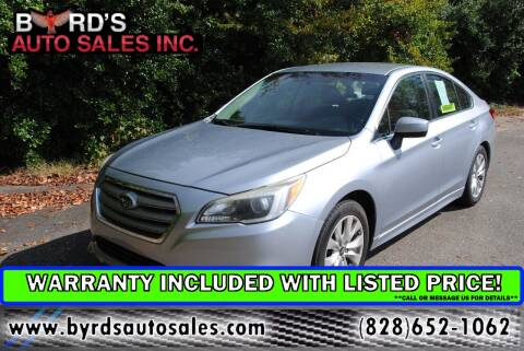 2015 Subaru Legacy for sale at Byrds Auto Sales in Marion NC