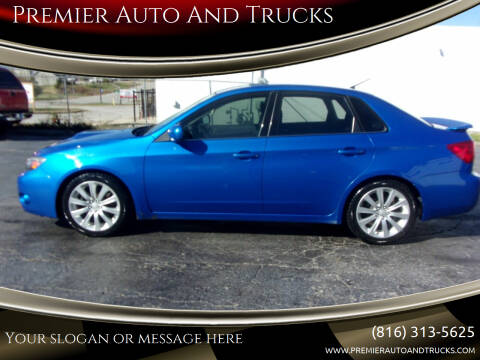 2008 Subaru Impreza for sale at Premier Auto And Trucks in Independence MO
