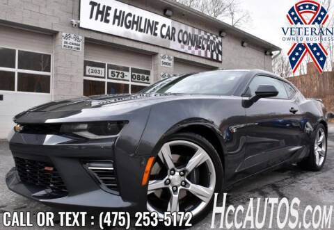 2017 Chevrolet Camaro for sale at The Highline Car Connection in Waterbury CT