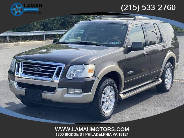 2006 Ford Explorer for sale at LAMAH MOTORS INC in Philadelphia PA