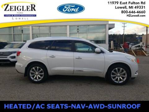 2017 Buick Enclave for sale at Zeigler Ford of Plainwell- Jeff Bishop in Plainwell MI