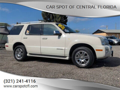 2008 Mercury Mountaineer for sale at Car Spot Of Central Florida in Melbourne FL