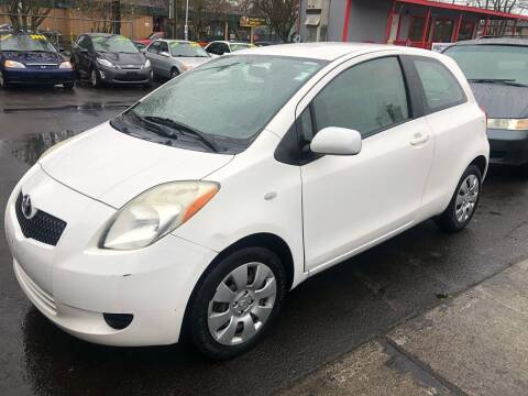 2008 Toyota Yaris for sale at Blue Line Auto Group in Portland OR