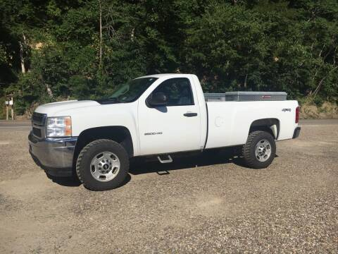 2011 Chevrolet Silverado 2500HD for sale at DONS AUTO CENTER in Caldwell OH