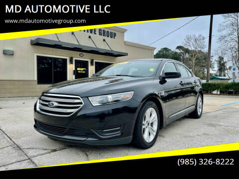 2015 Ford Taurus for sale at MD AUTOMOTIVE LLC in Slidell LA
