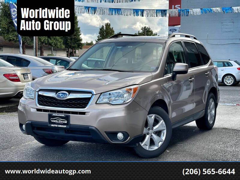 2015 Subaru Forester for sale at Worldwide Auto Group in Auburn WA