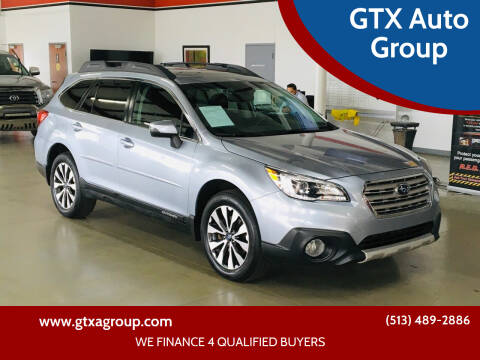 2016 Subaru Outback for sale at GTX Auto Group in West Chester OH