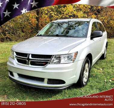2012 Dodge Journey for sale at Chicagoland Internet Auto - 410 N Vine St New Lenox IL, 60451 in New Lenox IL