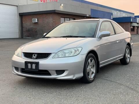 2005 Honda Civic for sale at California Auto Deals in Sacramento CA