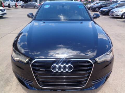 2015 Audi A6 for sale at Car Ex Auto Sales in Houston TX