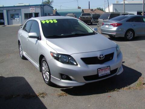2010 Toyota Corolla for sale at Primo Auto Sales in Merced CA