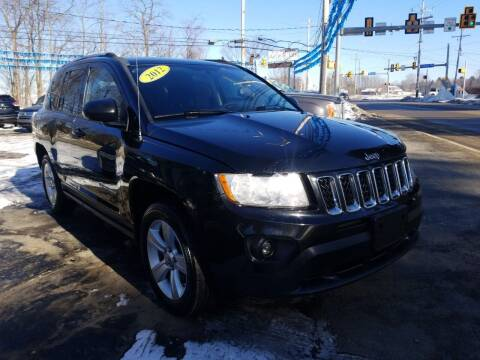 2012 Jeep Compass for sale at Bizzarro`s Fleetwing Auto Sales in Erie PA