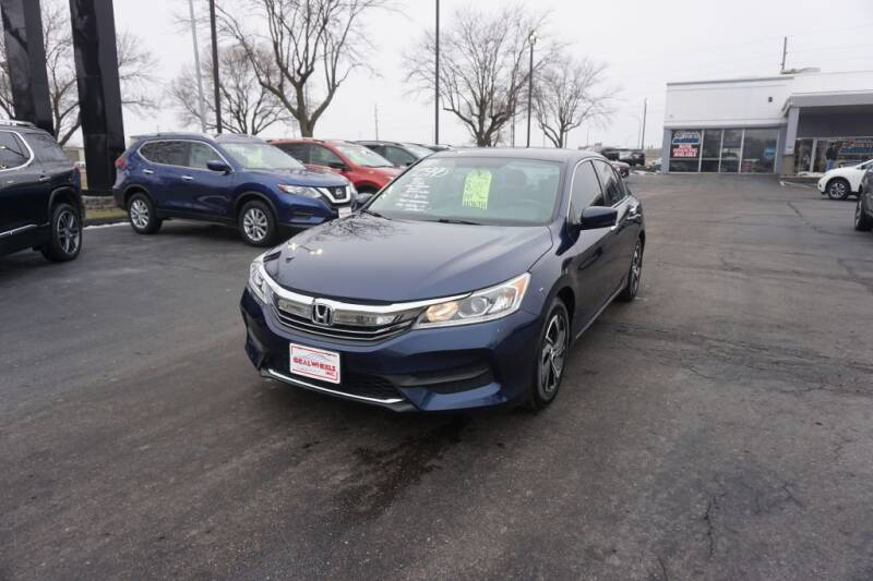 2016 Honda Accord for sale at Ideal Wheels in Sioux City IA